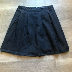 The Limited denim skirt size S